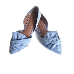 Liendo Knotted Bow Flats